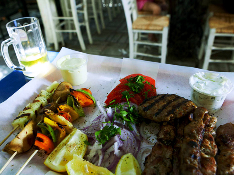 Souvlaki, photo by Manteau Stam