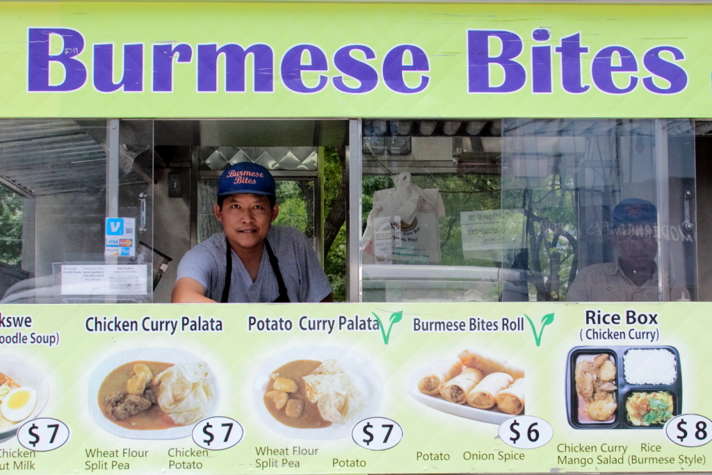 Myo Lin Thway of Burmese Bites, photo by Dave Cook