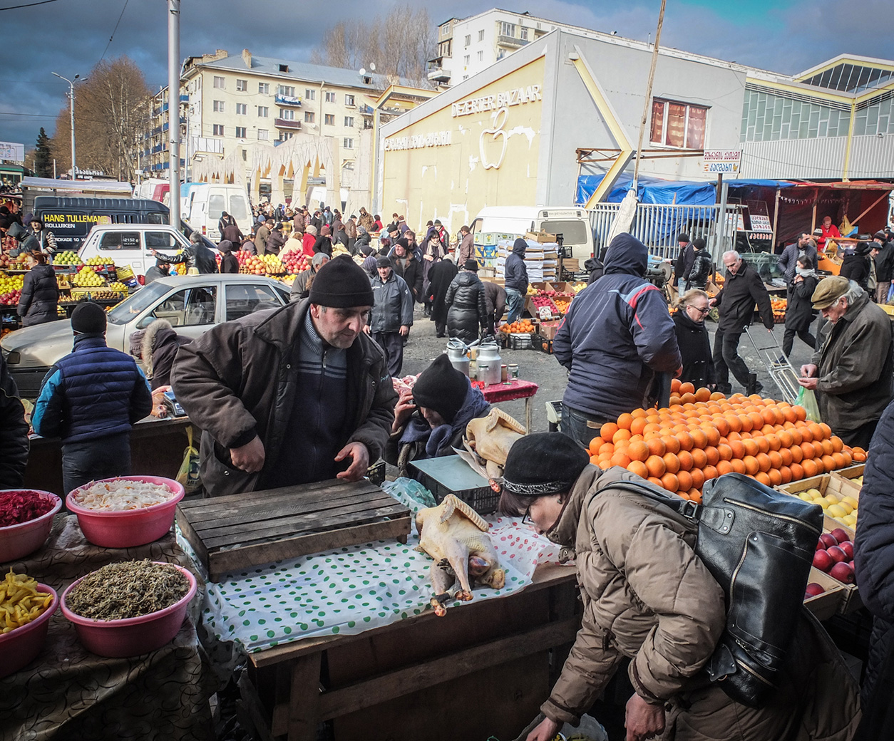 Georgia Tbilisi Flea Market Stock Photos Georgia Tbilisi: Tbilisi's Largest (and Most Chaotic) Open-Air Market
