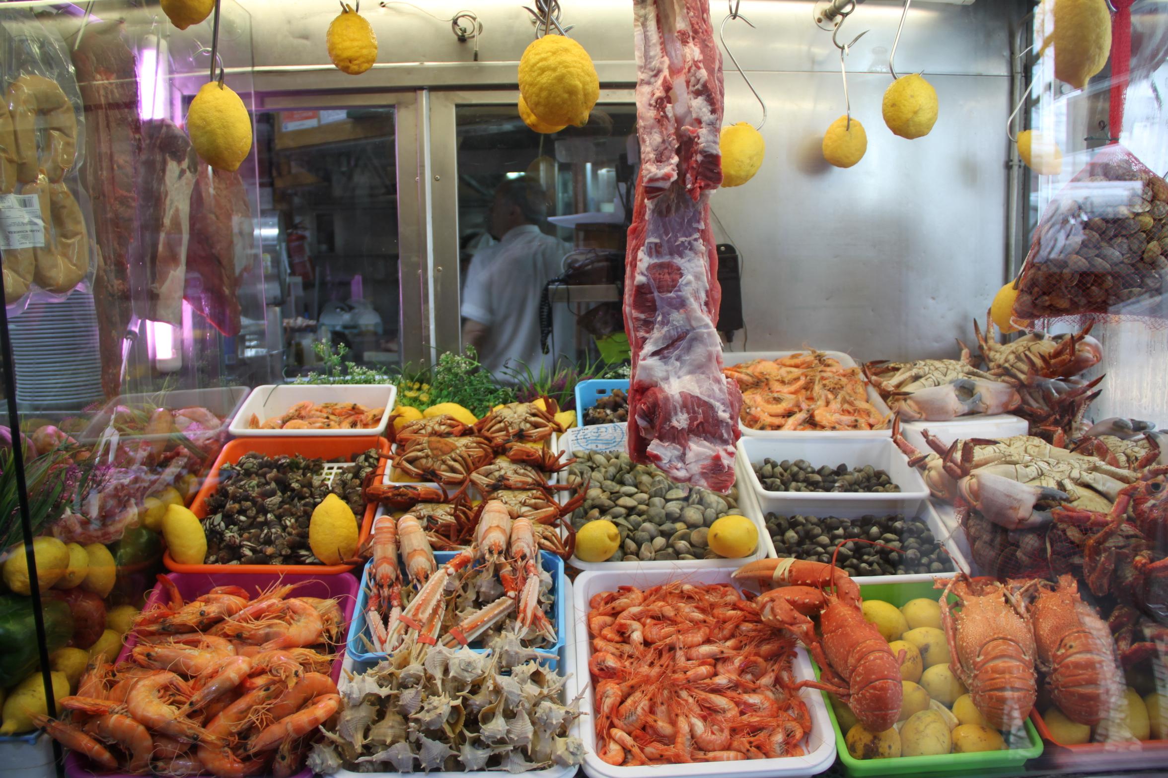 Seafood at Ó Palacio