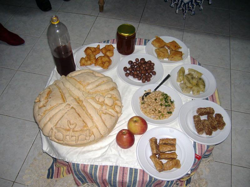 greek christmas nine foods
