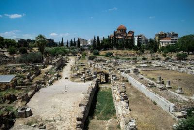 Kerameikos Ancient Cemetery, photo by Manteau Stam