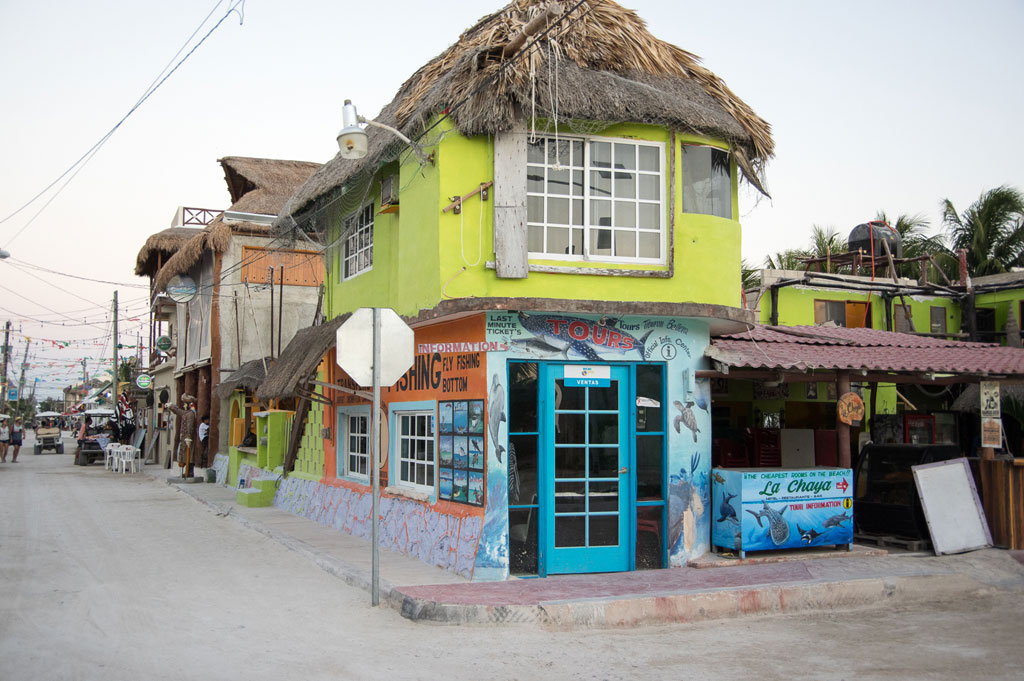 A palapa on Isla Holbox, photo by Ben Herrera