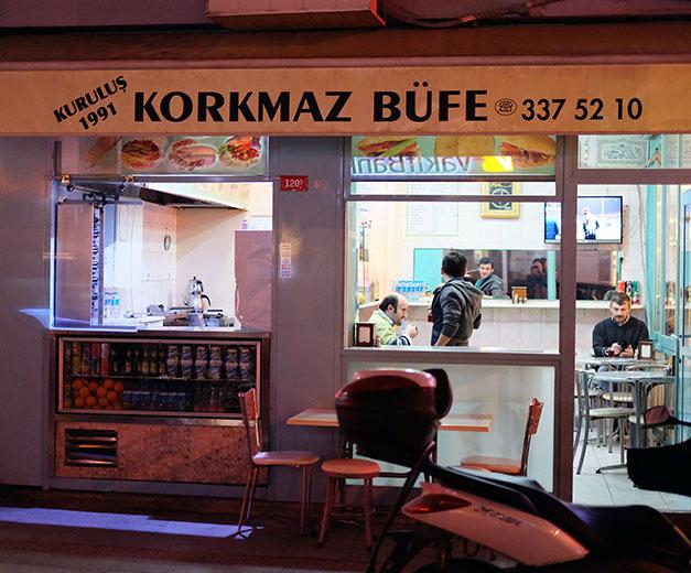 Korkmaz Bufe. Photo by Paul Osterlund.