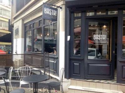 Basta Street Food Bar, photo by Jennifer Hattam