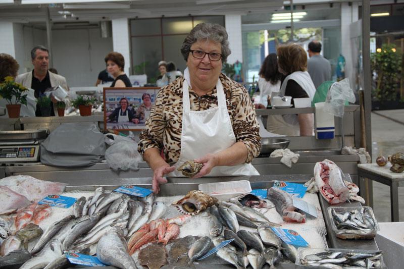Fishmonger Maria Adelaide, photo by Francesca Savoldi