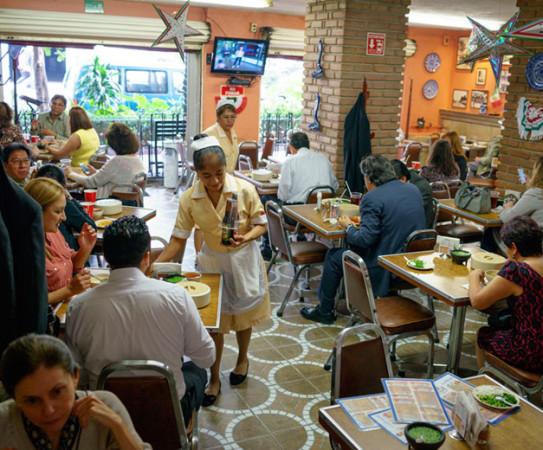 Cafe Azul Y Oro Mexico City