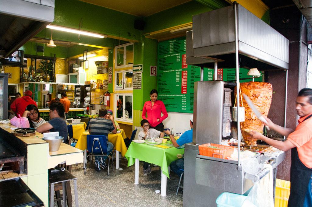 Tacos Árabes La Periquita, photo by Ben Herrera