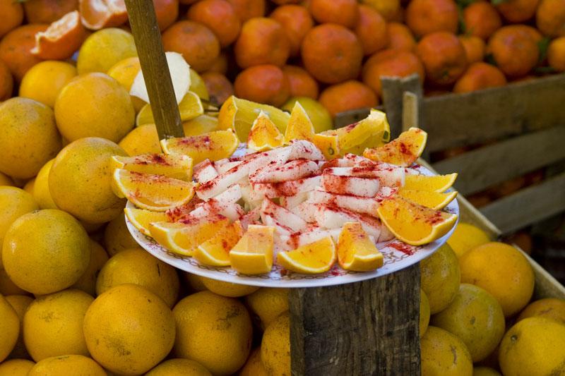 Produce in Mexico City, photo by Ben Herrera