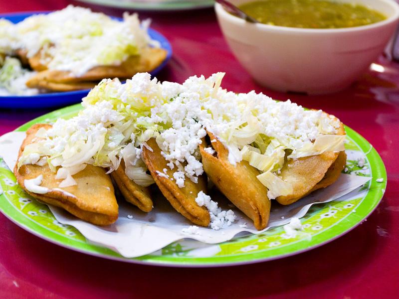 Deep-Fried Quesadillas in Mexico City | Culinary Backstreets