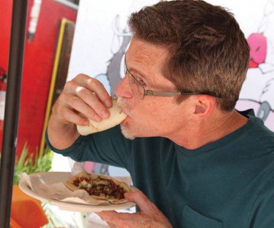 Chef Rick Bayless, photo by Scott Dummler