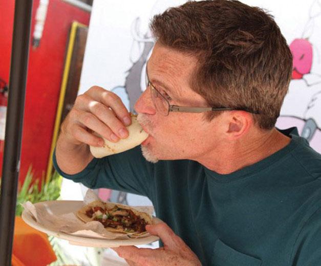 Chef Rick Bayless, photo by Scott Dummler