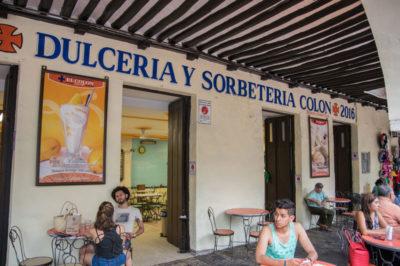 Dulcería y Sorbetería Colón, photo by Ben Herrera