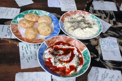 Hamur's börek, pirohu and mantı, photo by Samantha Shields