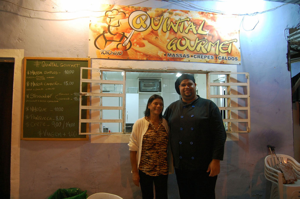 Joyce and Carolos Vinicius of Quintal Gourmet, photo by Taylor Barnes