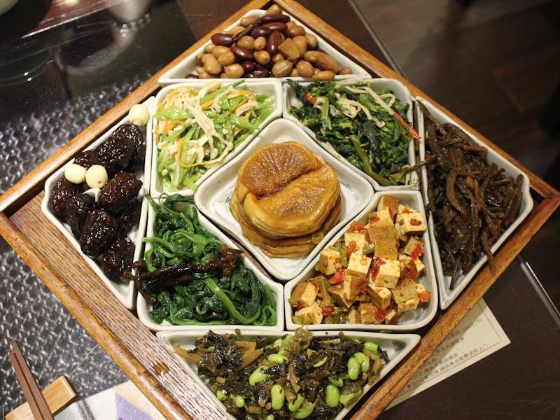 Enlightened Buddhist Vegetarian Dining In Shanghai Culinary