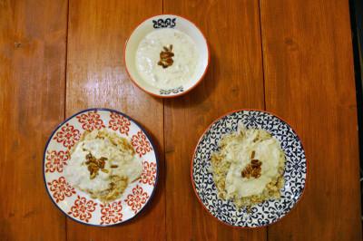 Shakriyyeh and rice, photo by Lauren Bohn