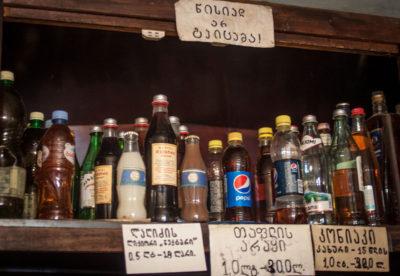 Hard liquor at Wine of Kardenakhi, photo by Justyna Mielnikiewicz