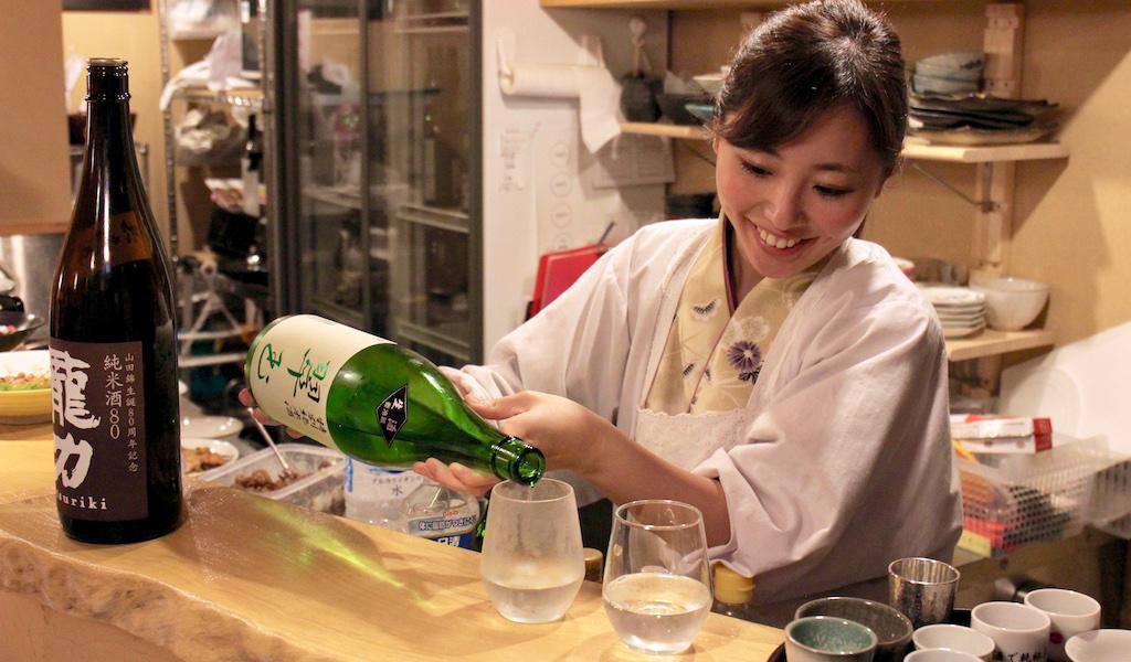 saké meilleurs restaurants tokyo